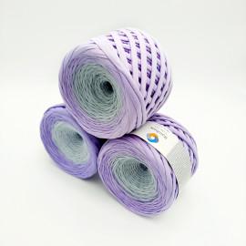 Purple-grey ombre